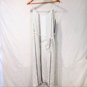 Mod Ref Striped Midi Dress